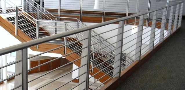 steel stair system